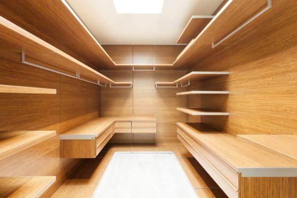 Pannello Melaminico in cabina armadio