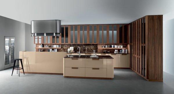 Cucina Composit Mood Isola – Tavolo Integrato Design ...