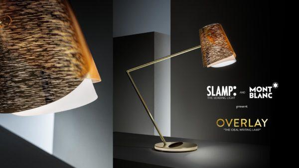overlay lampade slamp e montblanck