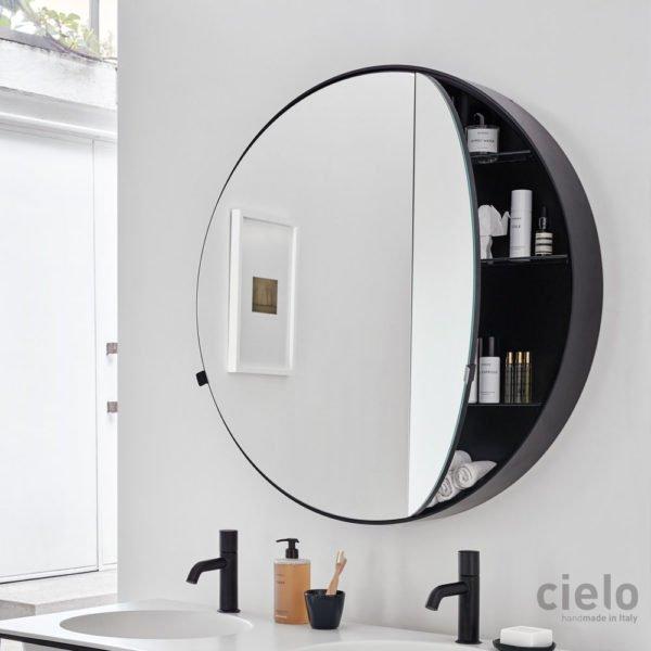 specchio ceramica cielo