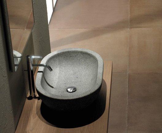 ceramica globo effetto pietra