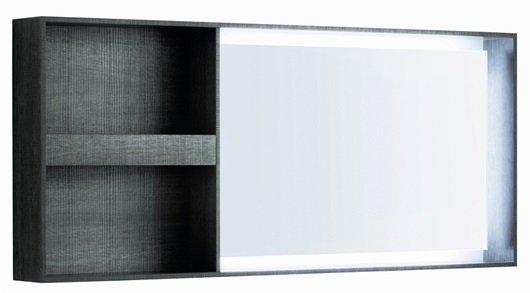 specchio con sezione pozzi ginori