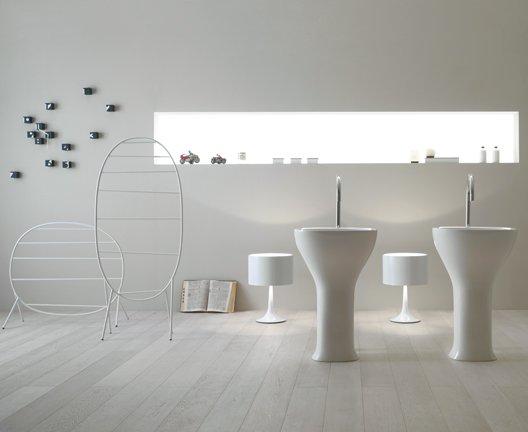 lavabo monolito affetto ceramica globo