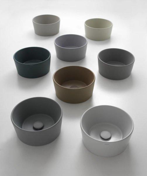 ceramica globo collezione bagno di colore