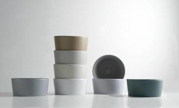 ceramica globo bagno di colore