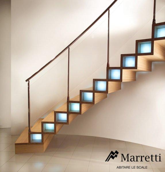 Marretti scale signa selezione di scale a chioccola dal for Marretti scale prezzi