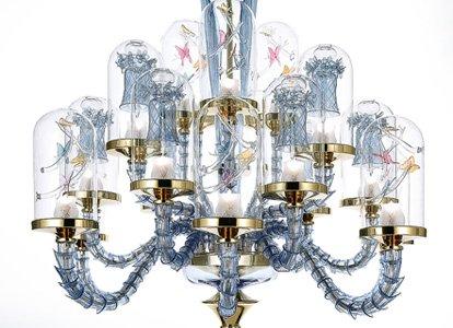 la murrina chandelier Jardin de Verre