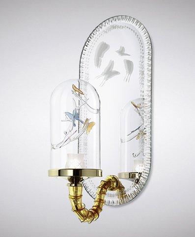 chandelier Jardin de Verre la murrina