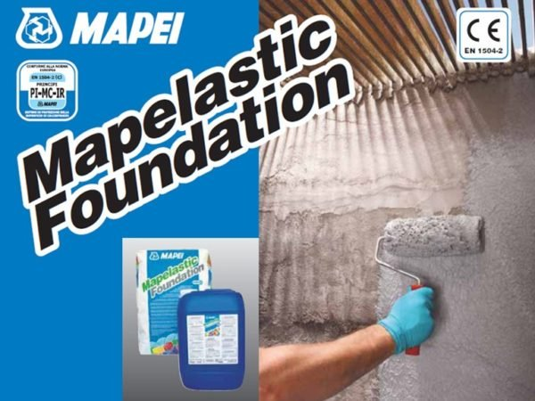 Mapelastic foundation