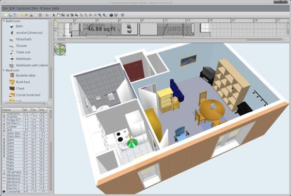 Sweet home 3d il tuo programma di interior design for Programmi per interior design
