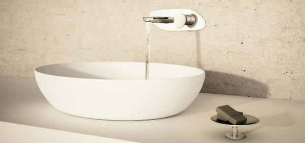 rubinetto a parete stone fir italia