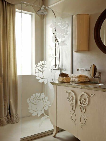 Giusti portos letti mobili da bagno con lavorazione artigiana - Mobili da bagno classici ...
