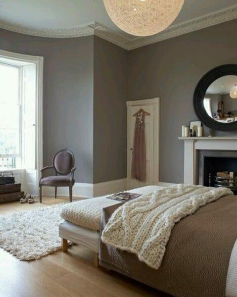 Color tortora per pareti quali mobili abbinare foto di esempi designandmore arredare casa - Camera da letto marrone ...