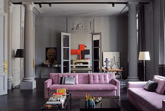 Color Prugna Per Pareti : Color tortora per pareti quali mobili abbinare foto di esempi