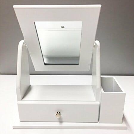 Specchio portagioie da terra da parete e da tavolo - Portagioie ikea ...
