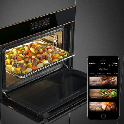 forno Smeg Connect