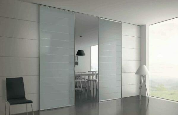 Vetro satinato per porte interne propriet manutenzione - Porte in vetro per bagno ...