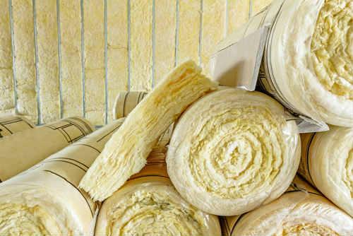 rotoli di lana di roccia per coibentazione