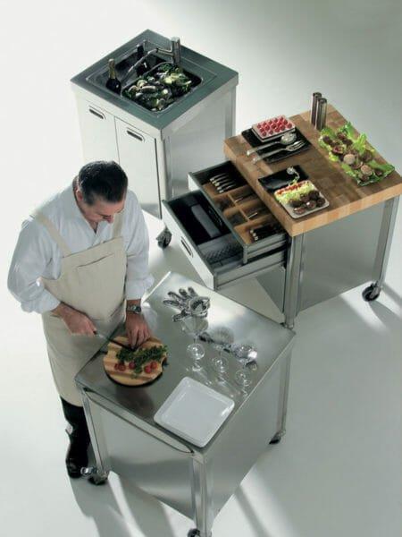 Alpes Inox Cucine cucina 70 100