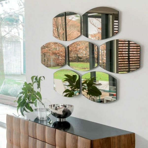 Come scegliere lo specchio della camera da letto esempi e - Specchi da parete amazon ...
