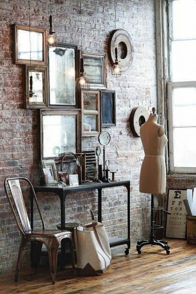 specchio della camera da letto