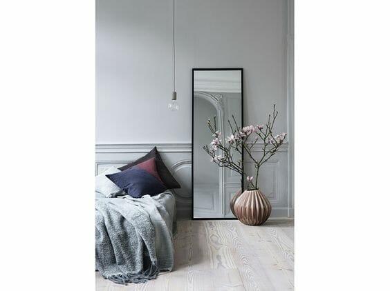 Come scegliere lo specchio della camera da letto: esempi e ...