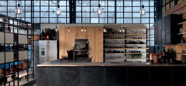 Aster Cucine: selezione dal catalogo con dettagli su Domina e Factory