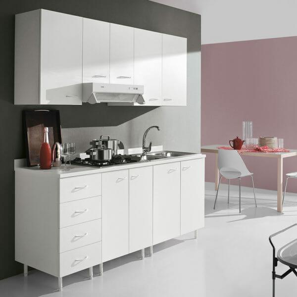 Photo of Geromin cucine, mobili che si ispirano all'arredo bagno, ideali per spazi contenuti