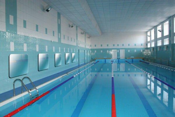 pannelli radianti a infrarosso in piscina