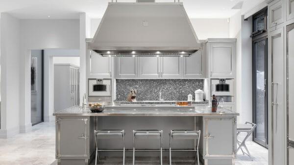Cucina SOFT GREY & SATIN NICKEL