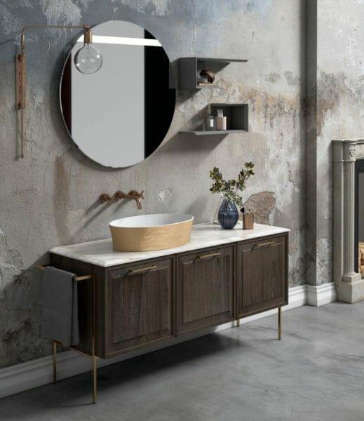 Speciale Puntotre, per un arredamento bagno vintage e personalizzato