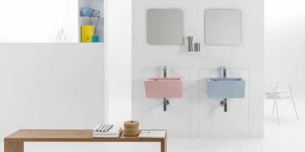 xilon lavabo block color pastello