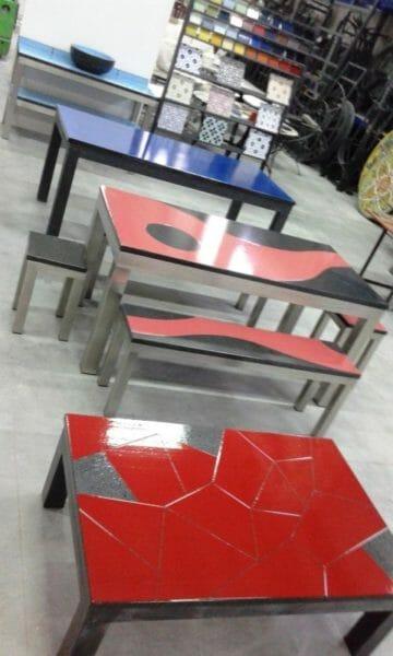 Tavoli in pietra lavica moderni