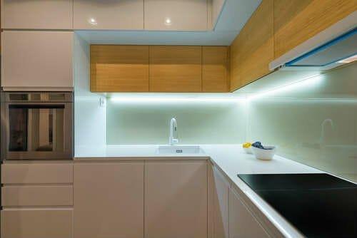 Vetroceramica in cucina