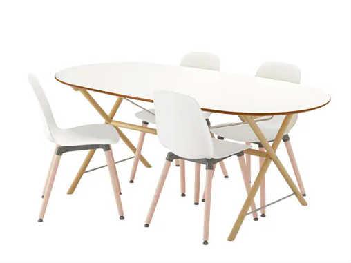 Tavolo ovale materiali e stili diversi per ogni esigenza designandmore arredare casa - Tavolo riunioni ovale ikea ...