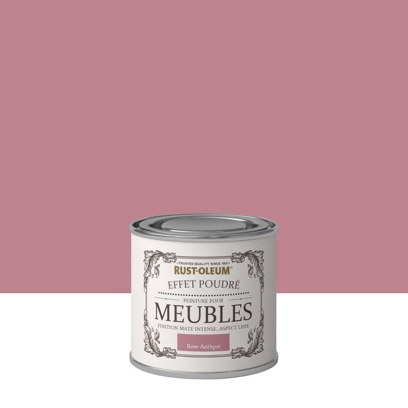 pittura colore rosa antico