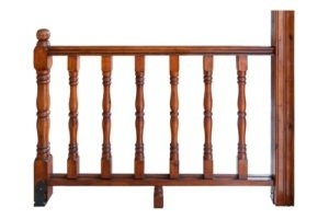 Ringhiere per balconi in legno