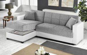 divano con penisola Sani