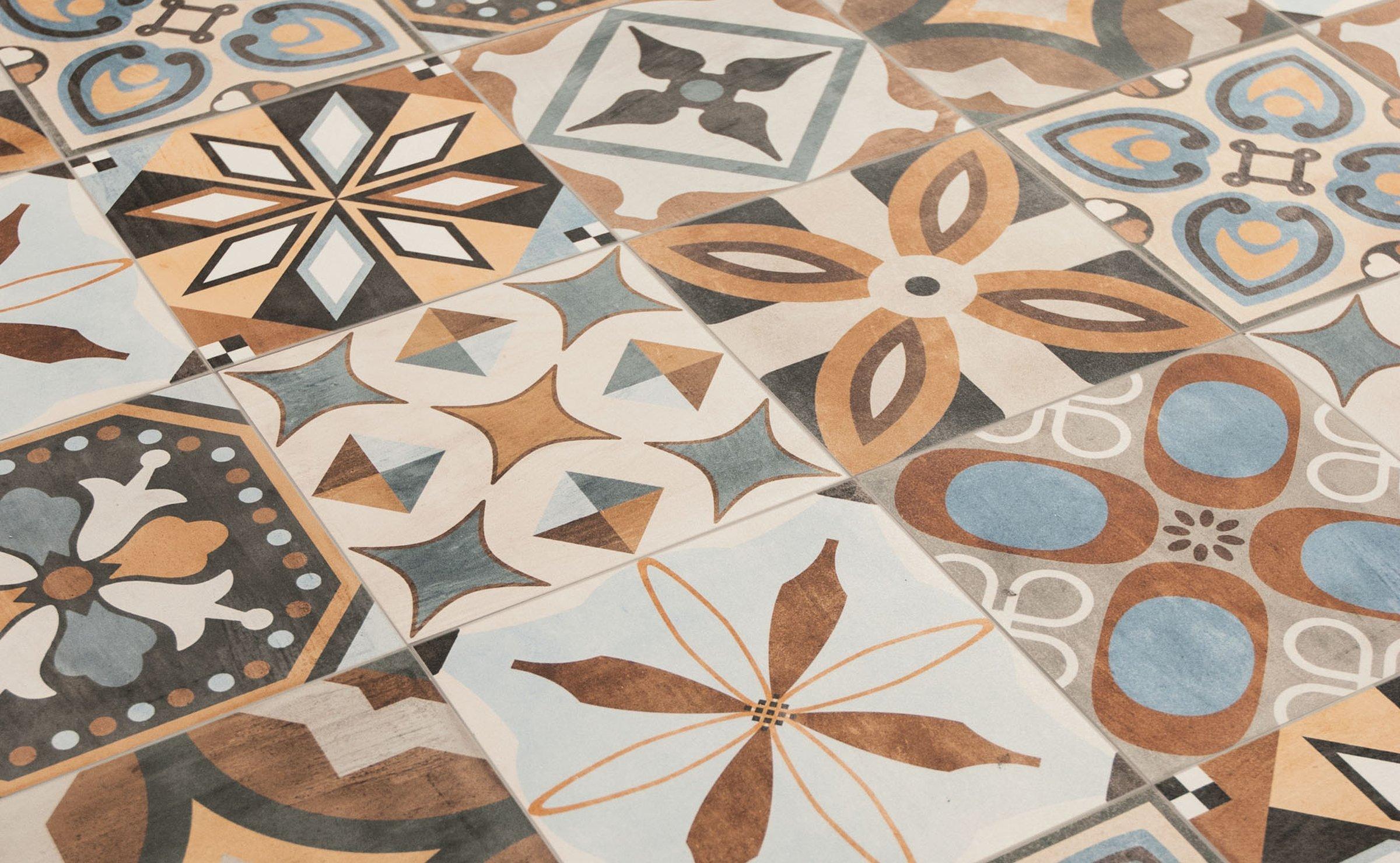 Ceramica Sant'Agostino patchwork