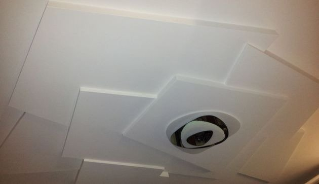 Controsoffitto in cartongesso con isolamento acustico
