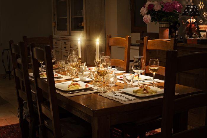 tavolo massiccio per sala da pranzo