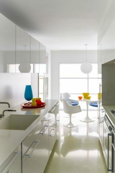 cucina clean white