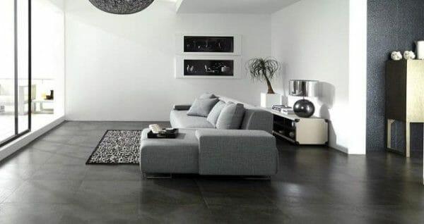 pavimento in colore antracite