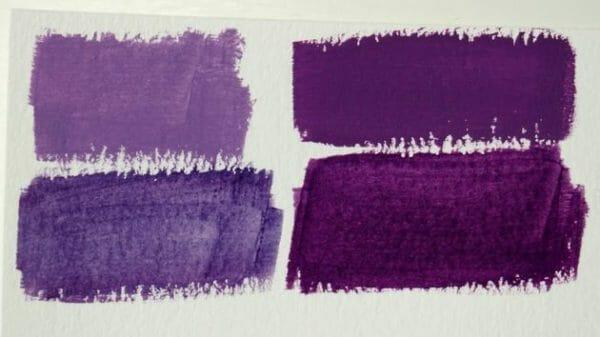 come ottenere il colore lilla