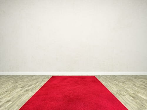 tappeto rosso