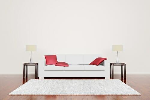 tappeto bianco