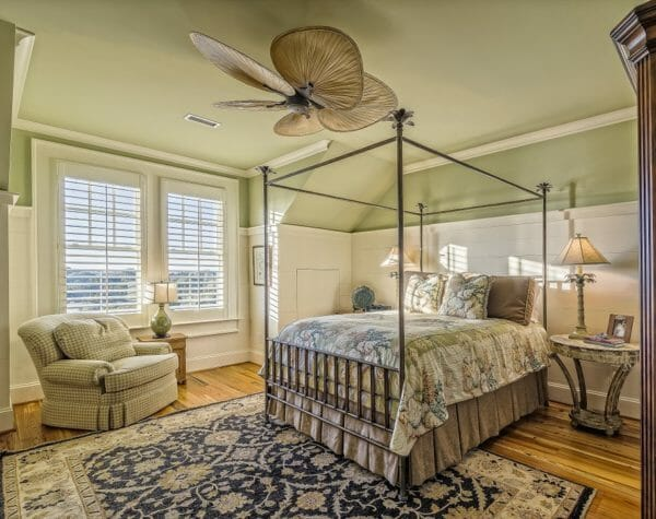 camera da letto coloniale