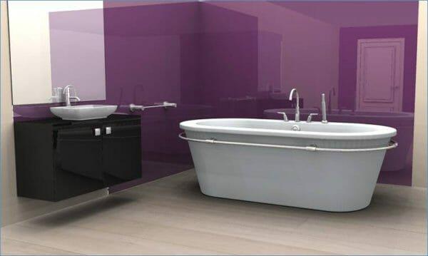 bagno viola