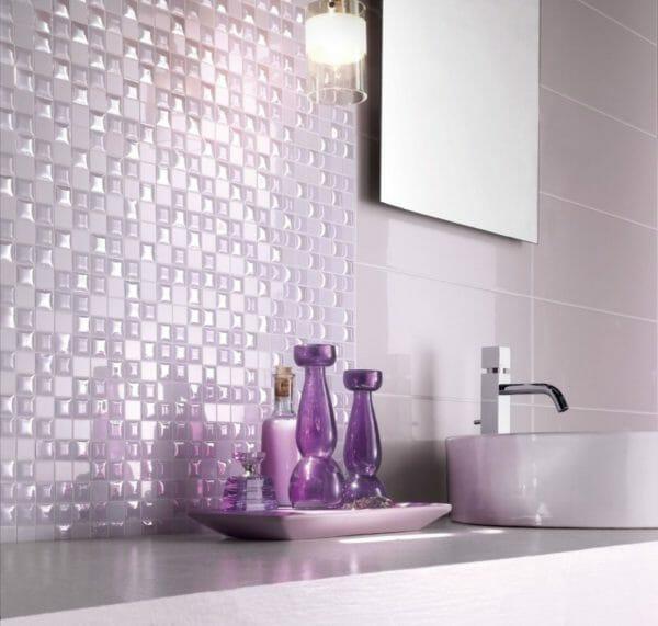 bagno colore viola
