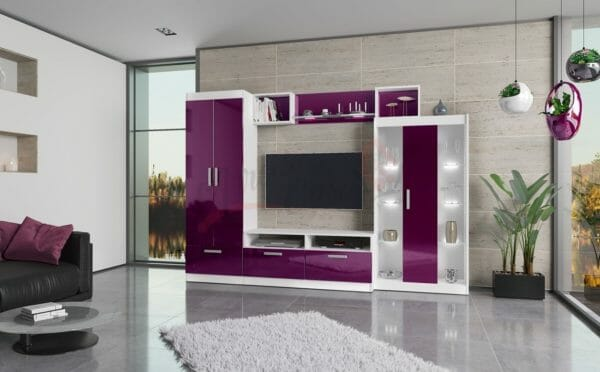 mobili colore viola